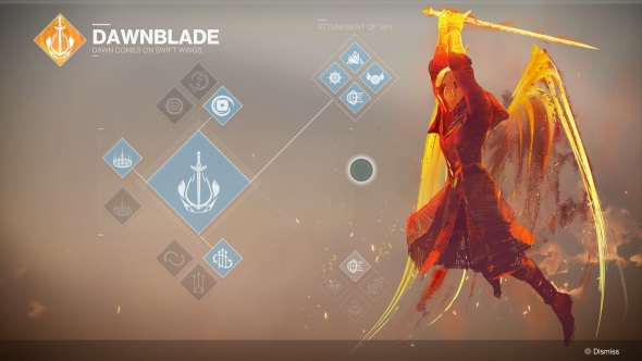 Destiny 2 Warlock Dawnblade