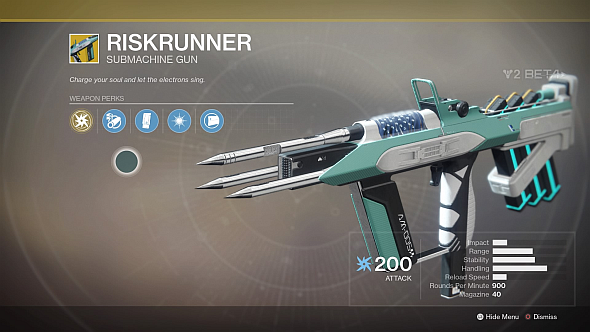 No infusion button, shader, or elemental mod, even on an elemental exotic