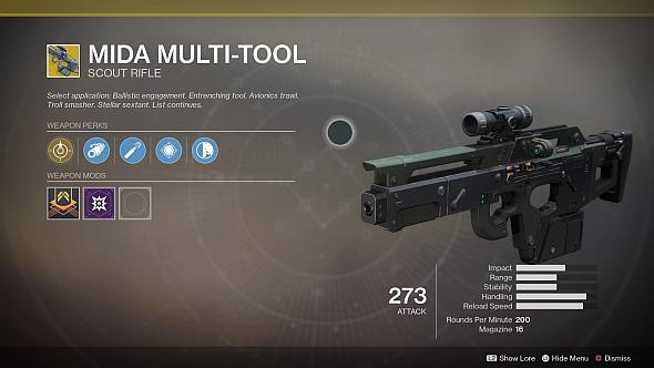 Destiny 2 MIDA Mult-Tool