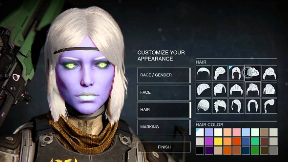 Destiny Character Creator