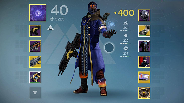 My Warlock. Each armour piece tells a story, but only in my head.