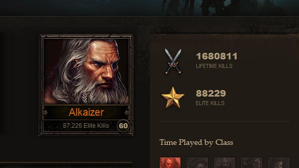 Diablo 3 player Alkaizer about to hit Paragon max level