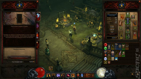 Diablo 3's 2.3 patch adds a new area, simplifies crafting