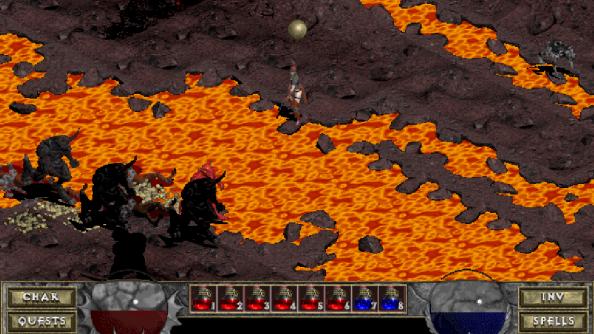 Diablo was originally