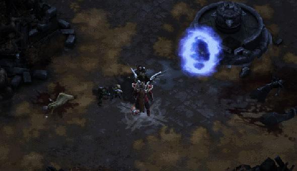 Diablo Darkening of Tristram event