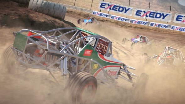 Dirt 4 buggy racing