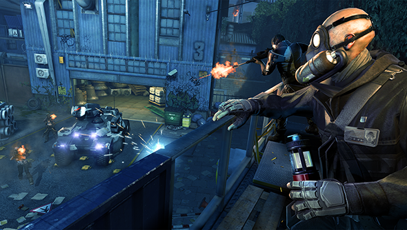 Dirty Bomb's closed beta arrives on Steam with the full mercenary