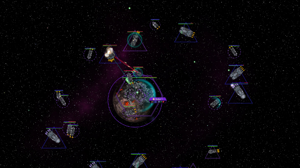 Best space game Distant Worlds: Universe
