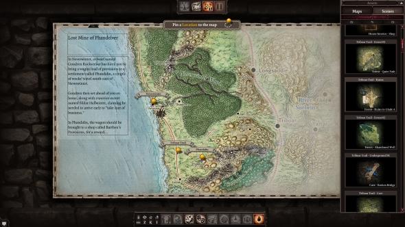 Divinity Original Sin II Game Master mode map