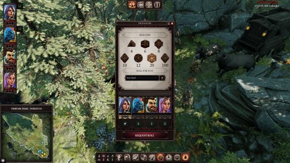 Divinity Original Sin II Game Master mode dice rolls