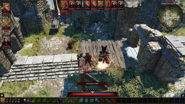 Divinity: Original Sin 2 PvP battle report - Fossil Strike
