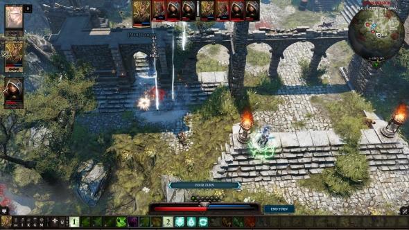 Divinity: Original Sin 2 PvP battle report - arrow barrage