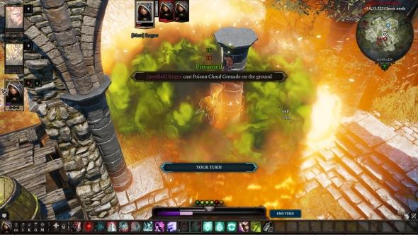 Divinity: Original Sin 2 PvP battle report - poison blast
