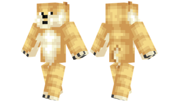 best minecraft skins Doge