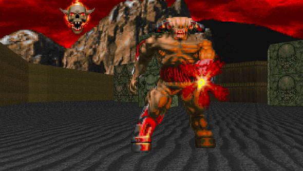 The Doom Cyberdemon.