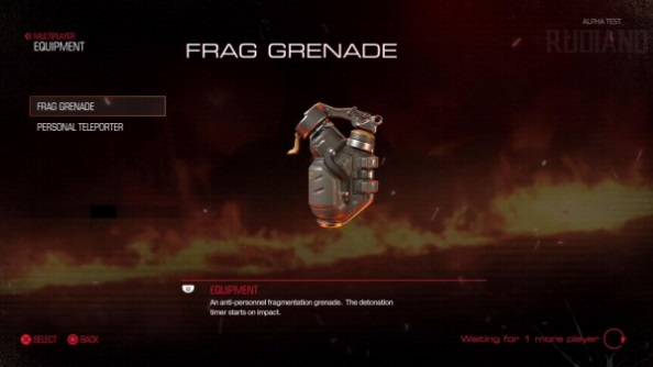 Doom closed alpha frag grenade