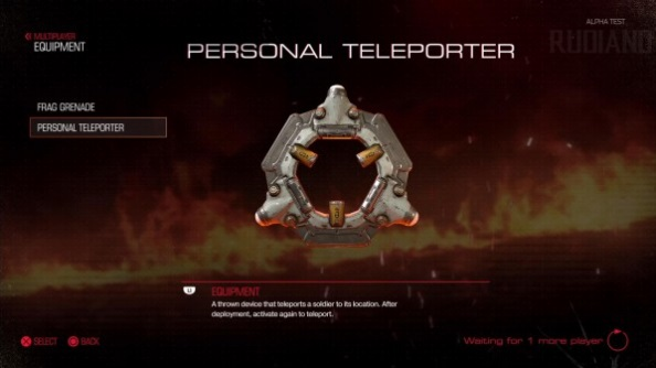 Doom closed alpha personal teleporter