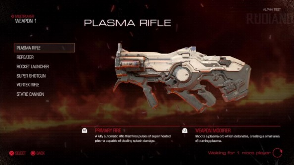 Doom closed alpha weapons plasma rifle