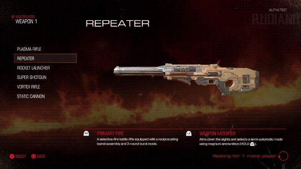 Doom closed alpha weapons repeater