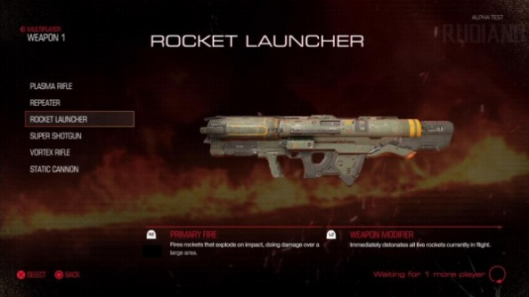 Doom closed alpha rocket launcher