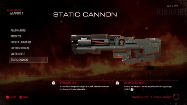 Doom closed alpha static cannon