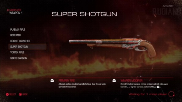 Doom closed alpha super shotgun