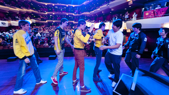 The Dota International Grand Finals: Na'Vi vs iG