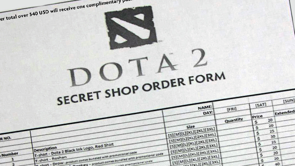A peek at the secrets of The Dota 2 International Secret Shop