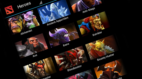 Fan made Dota 2 Android app now available