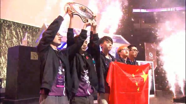 2014 Dota 2 International Winners NewBee Aegis