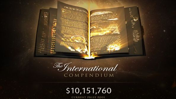 The Dota 2 International prize pool has eclipsed $10 million dollars