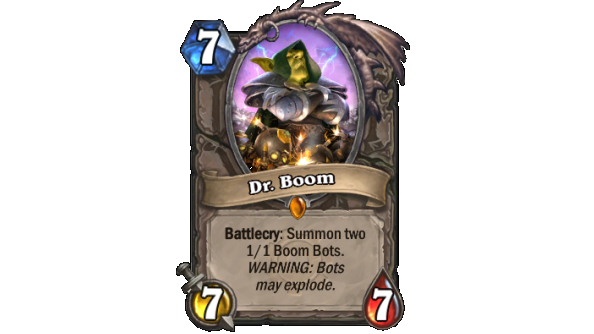 Best Hearthstone Legendary cards Dr. Boom
