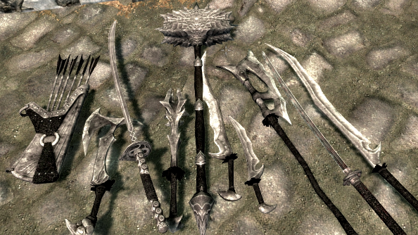Dragon Bone Weapons