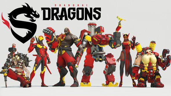 Shanghai Dragons Overwatch team roster
