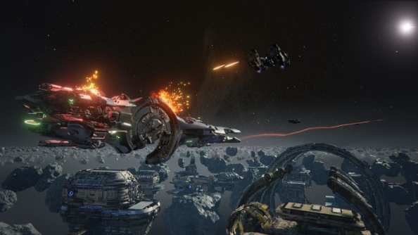 Dreadnought, the 5v5 spaceship strategy, goes into closed beta