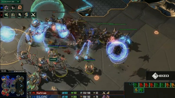 Worth watching: WCS EU StarCraft Ro32 today, Wednesday