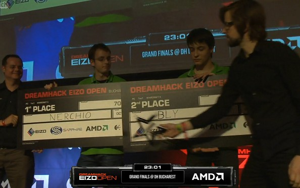 Team Acer dominates DreamHack Bucharest StarCraft 2 tournament as Nerchio defeats teammate Bly to win final