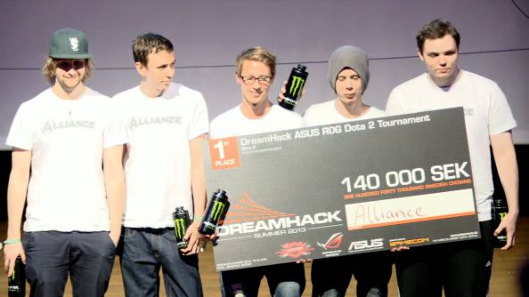 Dota 2 at Dreamhack Summer: Alliance beat Quantic in a 2-1 victory ...