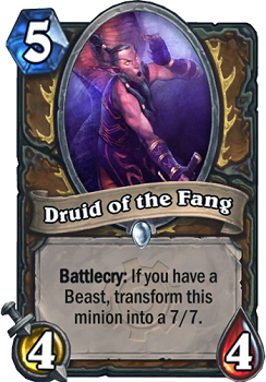 Druid of the Fang