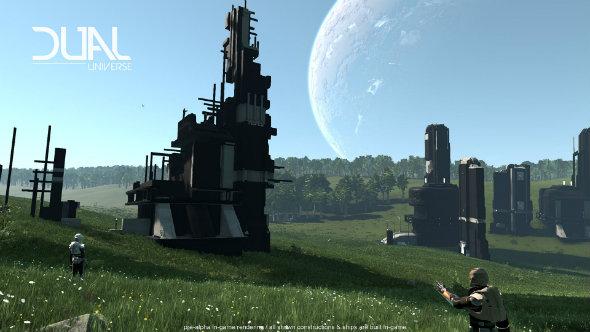 Dual Universe building