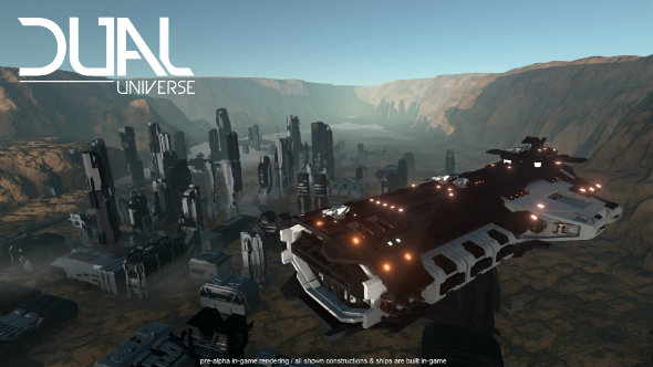 Dual Universe is a daringly ambitious mash-up of Minecraft and Eve Online