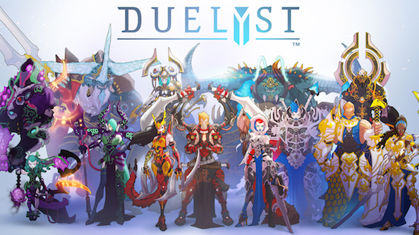 Duelyst giveaway! Win one of 100 codes for in-game currency worth $10!