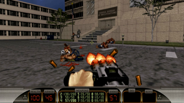 Duke nukem 3d blood