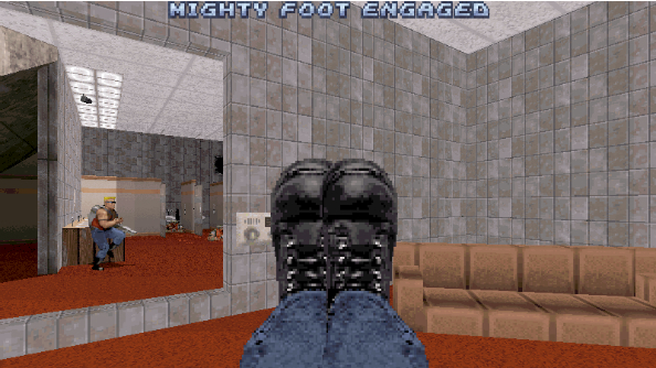 duke nukem 3d mighty foot