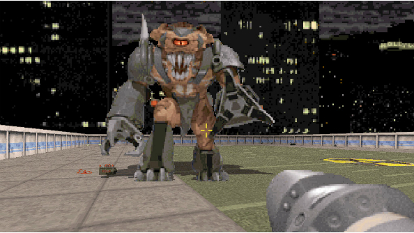 duke nukem 3d boss fight