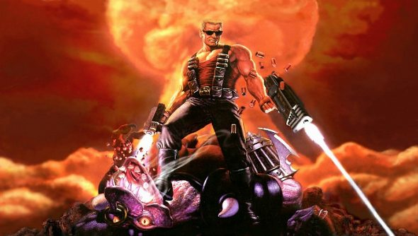 duke nukem 3d title screen