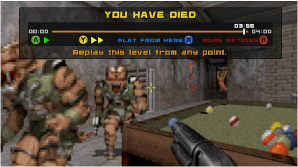 duke nukem replay point