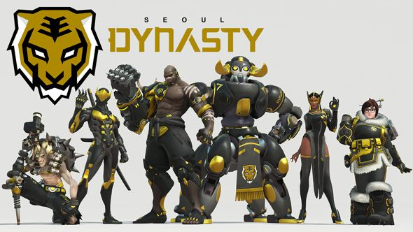 Seoul Dynasty Overwatch team roster