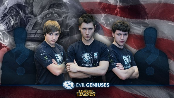 Evil Geniuses League of Legends to NA