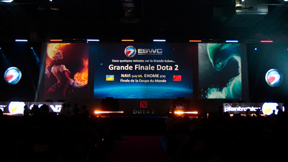 2012 Electronic Sports World Cup favours Dota 2 over LoL